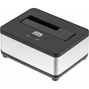 Док-станция для HDD AgeStar 3UBT7 SATA III пластик/алюминий серебристый 1