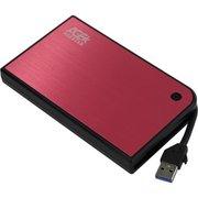 "Внешний корпус для HDD/SSD AgeStar 3UB2A14 SATA II пластик/алюминий красный 2.5"""