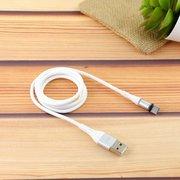 Дата-кабель MRM 360 магнитный силиконовый Type-C 1м (белый)
