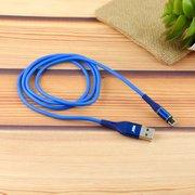 Дата-кабель MRM 360 магнитный силиконовый Lightning 1м (синий)
