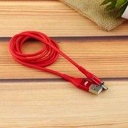 Дата-кабель MRM 360 магнитный силиконовый Type-C 1м (красный)