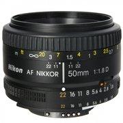 Объектив Nikon AF Nikkor (JAA013DA) 50мм f/1.8