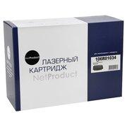 Картридж NetProduct (N-106R01034) для Xerox Phaser 3420/3425, 10K