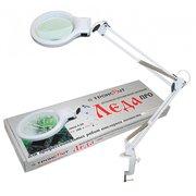 Светильник Трансвит Леда С20-036 ПДБ50-8-036 (LEDA PRO) настольный на струбцине E27 белый 8Вт
