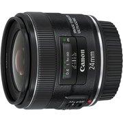 Объектив Canon EF IS USM (5345B005) 24мм f/2.8 черный