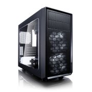 Корпус Fractal Design FD-CA-FOCUS-MINI-BK-W Focus G Mini Window черный без БП mATX 6x120mm 1x140mm 1xUSB2.0 1xUSB3.0 audio bott PSU