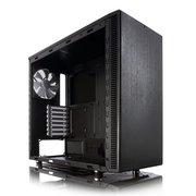 Корпус Fractal Design FD-CA-DEF-S-BK-W Define S Window черный без БП ATX 6x120mm 6x140mm 1x180mm 2xUSB3.0 audio bott PSU