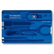 Швейцарская карта Victorinox SwissCard Classic (0.7122.T2) синий полупрозрачный
