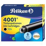 Картридж Pelikan INK 4001 TP/6 (PL301218) Brilliant Black чернила (6шт)