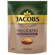 Кофе растворимый Jacobs Monarch Millicano Crema Espresso 75г (8051171)