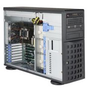 Платформа Supermicro SuperServer (SYS-7049P-TR) 4U, 8x Hot-swap 3.5'' drive bays, 2x Scalable CPU, 2x 1GbE, 1280W PS redundant Platinum