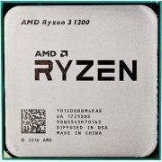 Процессор AMD Ryzen 3 1200 Tray (YD1200BBM4KAE)