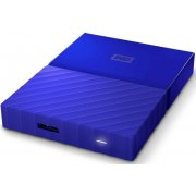 "Внешний HDD Western Digital My Passport, синий (WDBBEX0010BBL-EEUE) 2.5"" 1.0TB USB3.0"