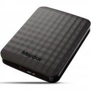 "Внешний HDD Samsung Maxtor M3 Portable (STSHX-M101TCBM, HX-М101ТСВ/GMR) 2.5"" 1.0TB USB3.0 чёрный"