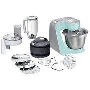 Кухонный комбайн Bosch MUM58020 мятный/серебристый