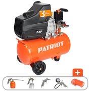 Компрессор поршневой Patriot EURO 24-240K оранжевый