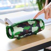 УЦ Портативная колонка Borofone BR3 Rich sound sports, camouflage green (плохая упаковка)