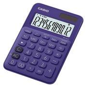 Калькулятор настольный Casio MS-20UC-PL-S-EC фиолетовый