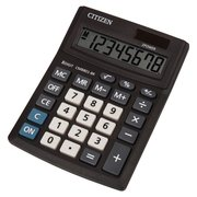 Калькулятор настольный Citizen CMB801BK черный