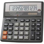Калькулятор бухгалтерский Citizen SDC-640 II черный