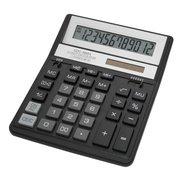 Калькулятор бухгалтерский Citizen SDC-888XBK черный