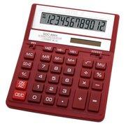 Калькулятор бухгалтерский Citizen SDC-888XRD красный