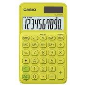 Калькулятор карманный Casio SL-310UC-YG-S-EC желтый/зеленый