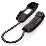 Телефон проводной Gigaset DA210 черный