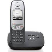 Радиотелефон Gigaset C430 черный/серебристый