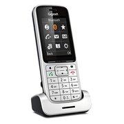 Радиотелефон Gigaset SL450HX серебристый для SL450 SYS