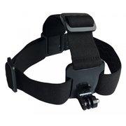 Держатель для экшн-камер Buro Head mount GOPRO-HS пластик/эластичная ткань для GoPro