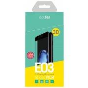Стекло защитное 3D dotfes E03 для iPhone 6 Plus/6S Plus white