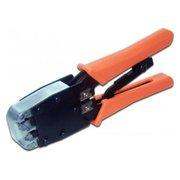 Инструмент обжимной Lanmaster TWT-CRI-568R оранжевый