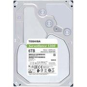"HHD Toshiba HDWT360UZSVA Sata3 6Tb Surveillance S300 (7200rpm) 256Mb 3.5"""