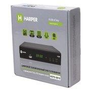 Ресивер DVB-T2 HARPER HDT2-2015 чёрный
