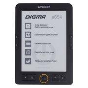 Электронная книга Digma E654 графит