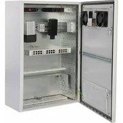 Шкаф электромонтажный ЦМО (ШТВ-Н-12.6.5-4ААА) уличный всепогодный настенный 12U (600х500), передняя дверь вент.