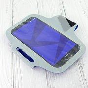 Спортивный чехол на руку для смартфона Xiaomi Guildford (5.5-6.0 дюймов) голубой