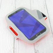 Спортивный чехол на руку для смартфона Xiaomi Guildford (5.5-6.0 дюймов) оранжевый