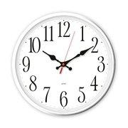 Часы настенные Бюрократ WallC-R75P D29см белый