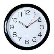 Часы настенные Бюрократ WallC-R78P D29см черный