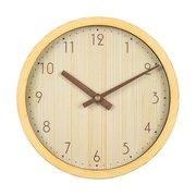Часы настенные Бюрократ Wood WALLC-R60P D25.5см бежевый