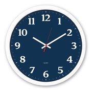 Часы настенные Бюрократ WallC-R66P D30см белый