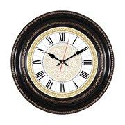 Часы настенные Бюрократ WallC-R68P D29см коричневый