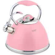 Чайник со свистком Zeidan Z-4282 розовый