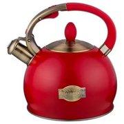 Чайник со свистком Agness 937-821 красный