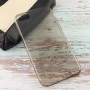 Силиконовая накладка iPhone 7 Чёрный Прозрачный