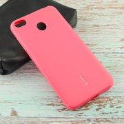 Силиконовая накладка Cherry для Xiaomi Redmi 4X розовый