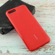 Силиконовая накладка Cherry для Xiaomi Mi-6 красный