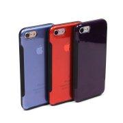 Матовый чехол для iPhone 7/8, арт.010415 (Фиолетовый)